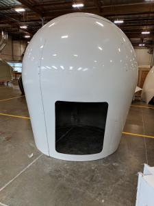 2.2m radome hatch cutout
