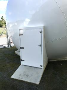 18ft Radome Door
