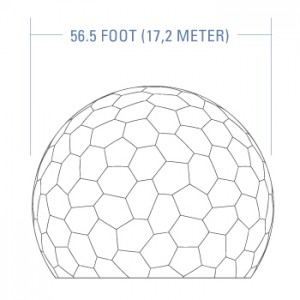 56.5ft Radome