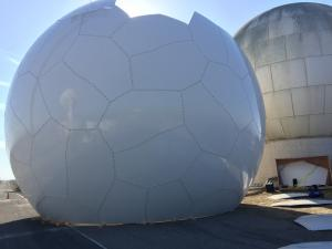 Replacing Old Radome