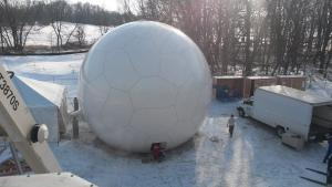 30ft Weather Radome